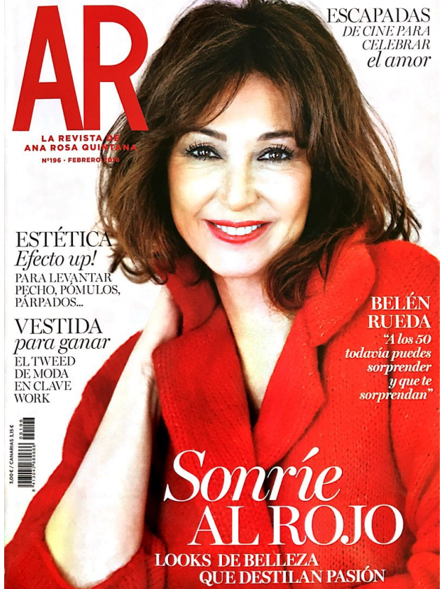 Revista AR Febrero Amor Sáez