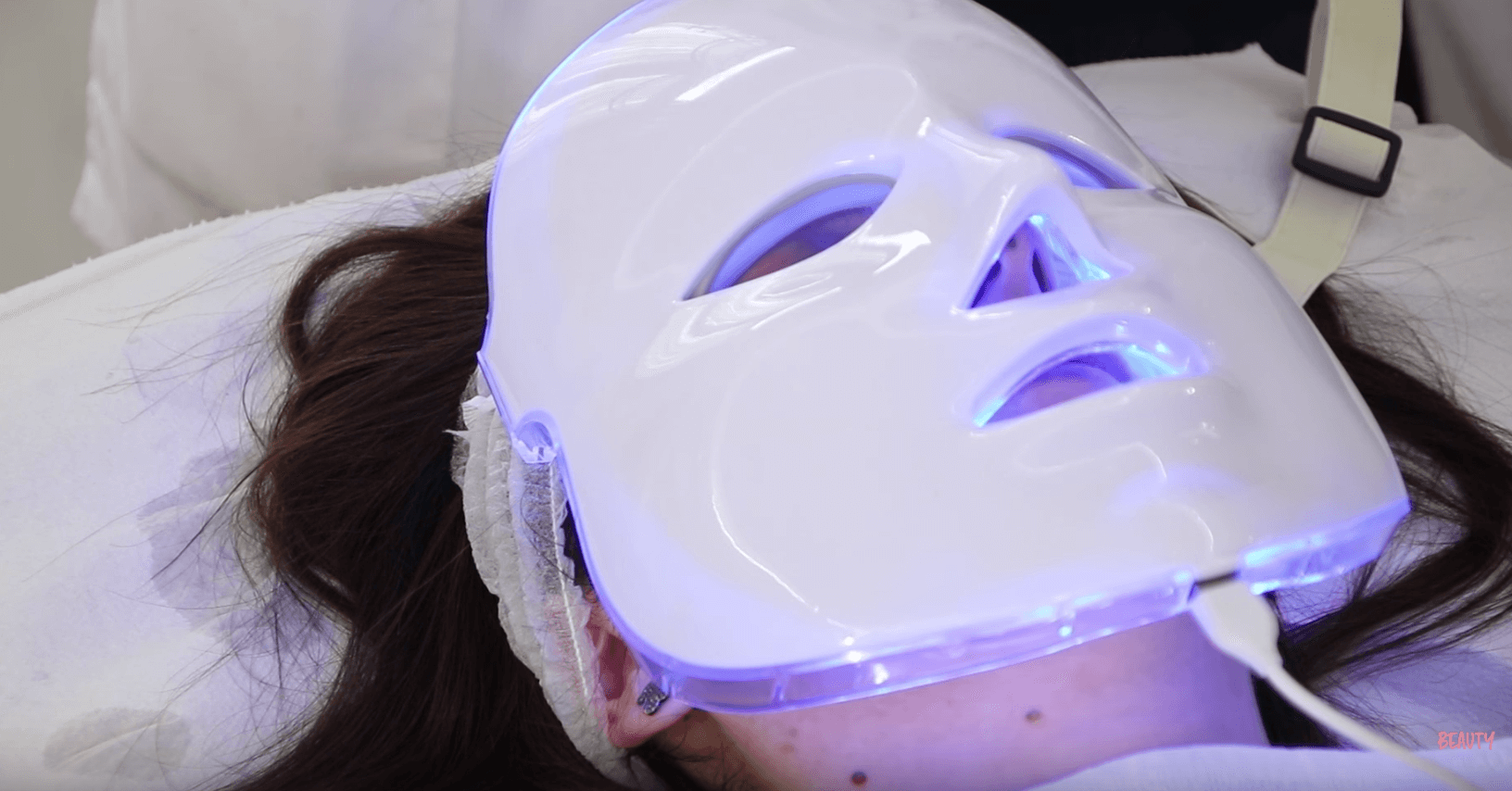 máscara led peeling